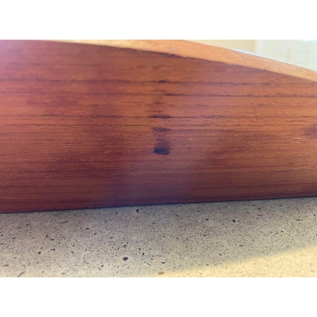 Wood Vintage Jens Quistgaard for Dansk Teak Lattice Tray For Sale - Image 7 of 8