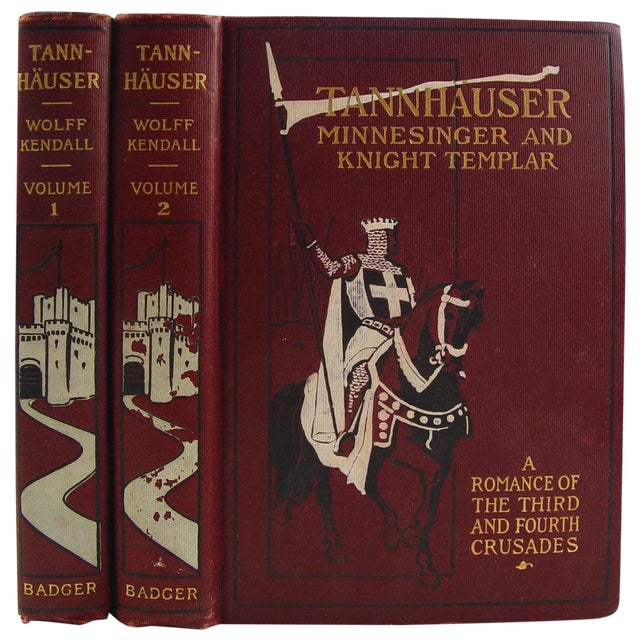 Tannhauser, Vols 1 and 2 - Image 1 of 5