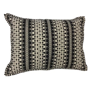 After Dark Fit Embroidered Lumbar Pillow