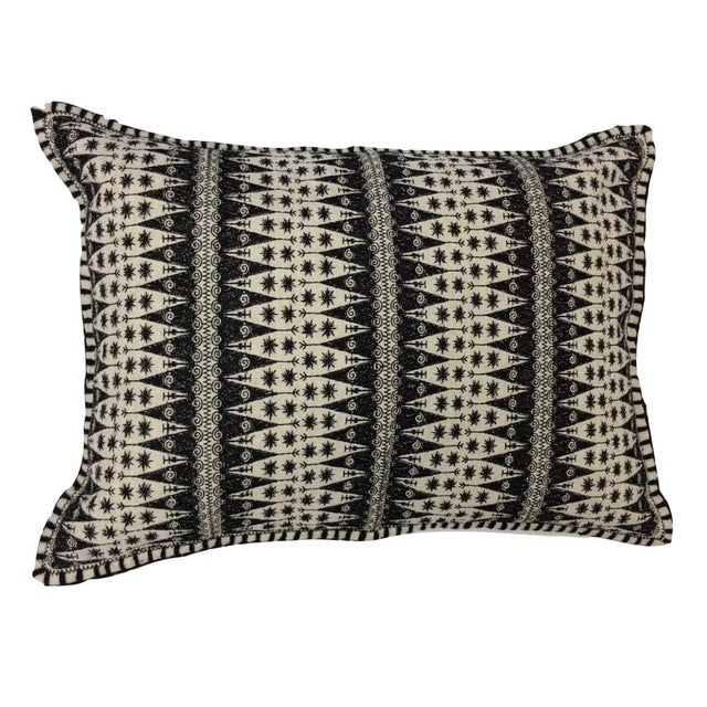 After Dark Fit Embroidered Lumbar Pillow - Image 1 of 2