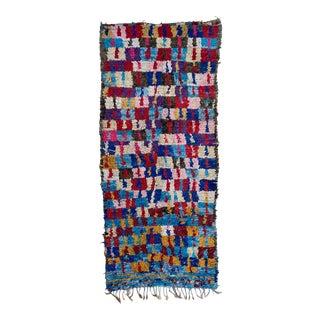 Vintage Boucherwite Wool Rug For Sale