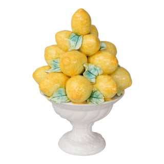 Vintage Italian Lemons Topiary For Sale