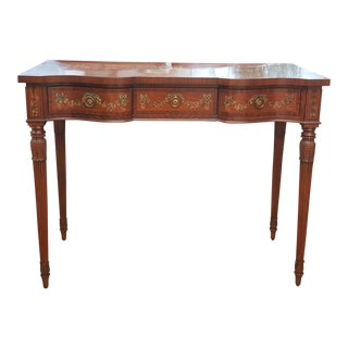 Maitland-Smith Hand Painted Console