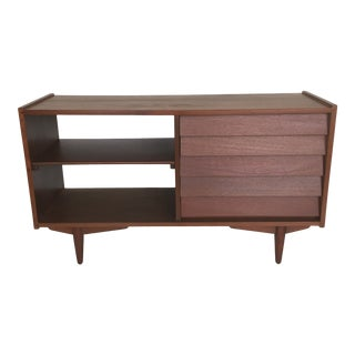 1960's Mid Century Modern Media Sideboard For Sale