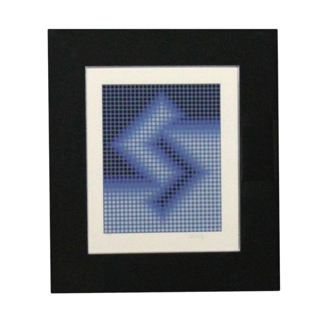 Sembe by Victor Vasarely Serigraph in Color Pencil Signed Numbered For Sale