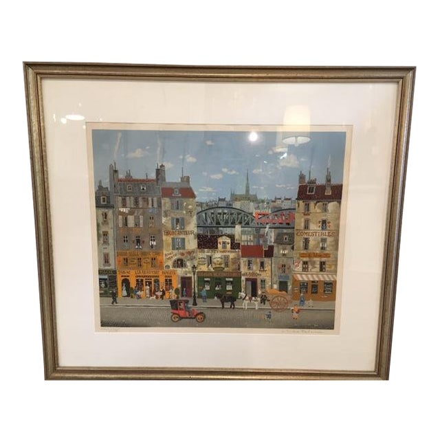 Michel Delacroix Lithograph For Sale