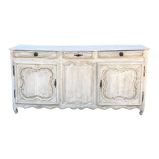 Buffet, 18th Century Country French Provincial Painted For Sale