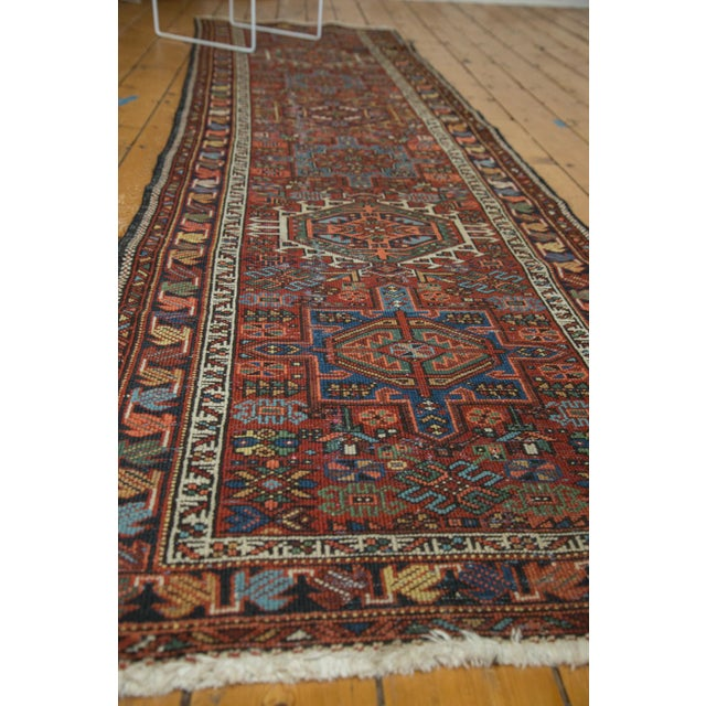 "Textile Vintage Karaja Rug Runner - 2'9"" X 10'6"" For Sale - Image 7 of 10"
