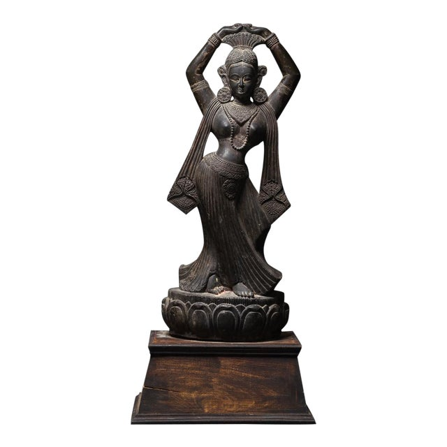 Stone Statuette of Maya For Sale