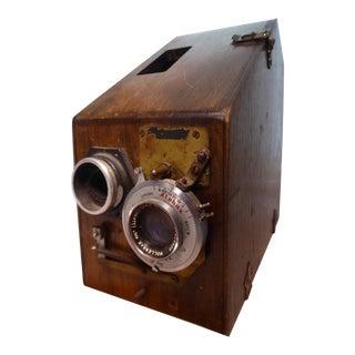 """Antique Wooden Camera """"Cam-O"""", Kansas City, Missouri For Sale"""