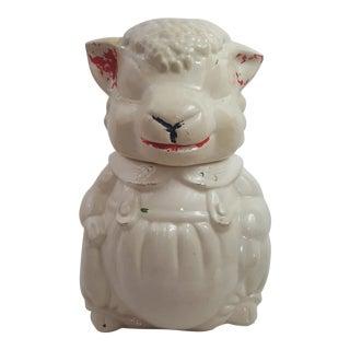 Vintage Lamb Cookie Jar For Sale
