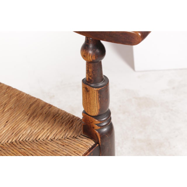 Antique Elizabethan-Style Spindle Chairs - A Pair - Image 10 of 11