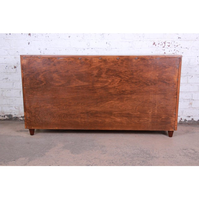 Edward Wormley for Dunbar Mahogany Double Bookcase For Sale - Image 9 of 11