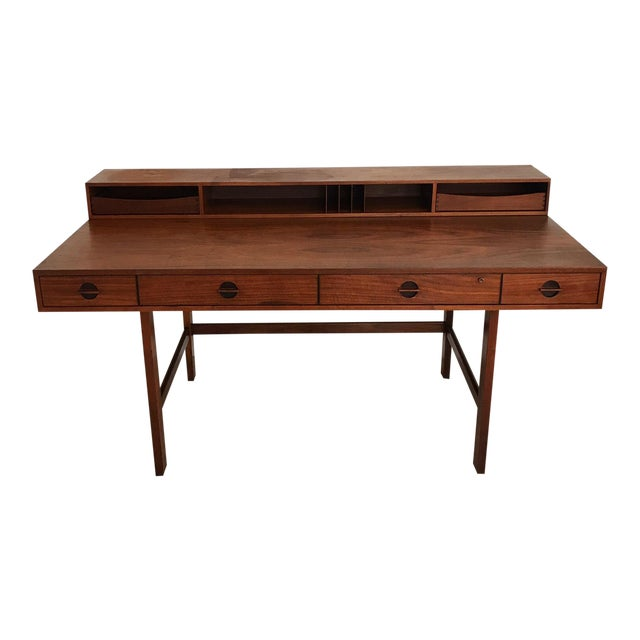 Peter Lovig Nielsen Rosewood Folding Dansk Danish Desk Circa 1965 - Image 1 of 11