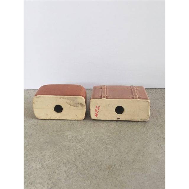 Vintage Suitcase Salt & Pepper Shakers - Image 6 of 6