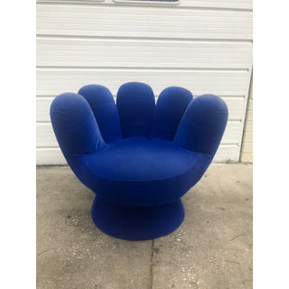 Vintage Blue Hand Chair Preview