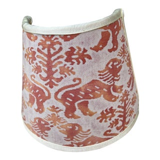 Fortuny Richelieu Pattern Fabric Night Light For Sale