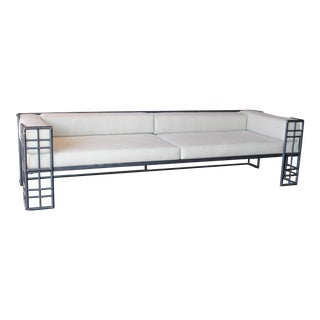 Erin Martin Custom Rebar Framed Sofa For Sale