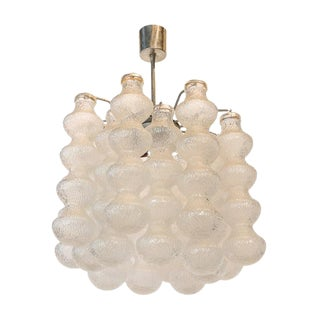 Bubble Seguso Glass Chandelier For Sale