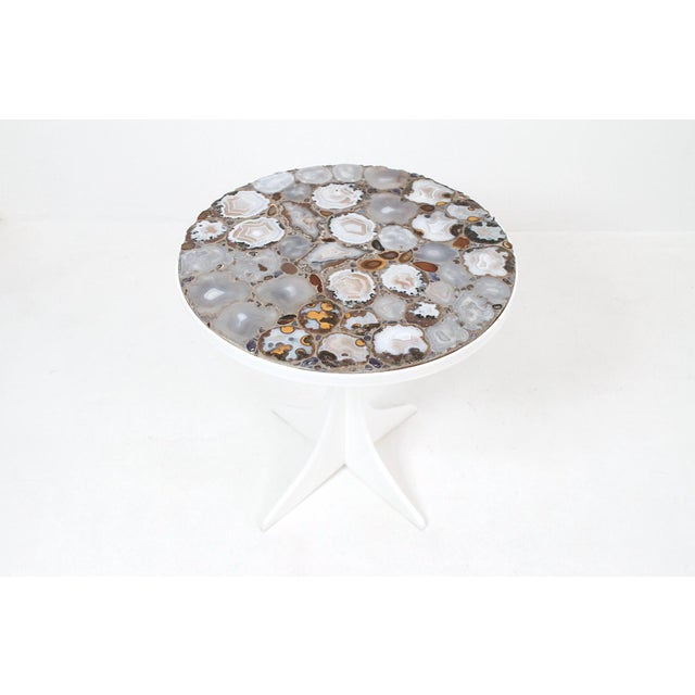 Miriam Rogers Mosaic and Acrylic Table For Sale - Image 11 of 11