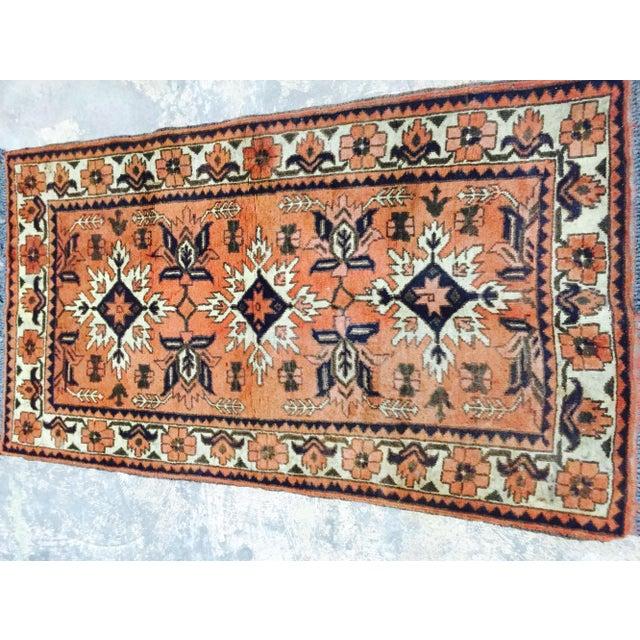 "Turkaman Persian Handmade Rug - 2'6"" X 4'8"" - Image 3 of 9"