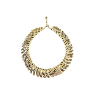 Monet Ad & Book Piece Collar Necklace, 1964 For Sale