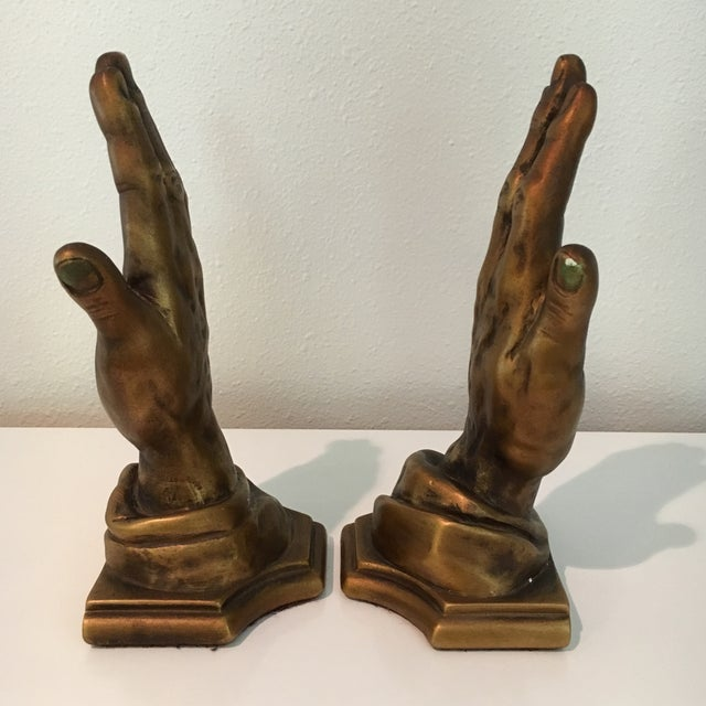 Mid-Century Roman Art Co. Robia Porcelain Hands - A Pair For Sale - Image 5 of 11