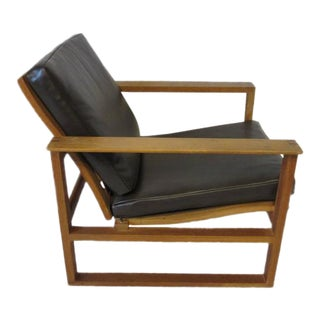 Børge Mogensen Danish Lounge Chair for Fredericia Stolefabrik