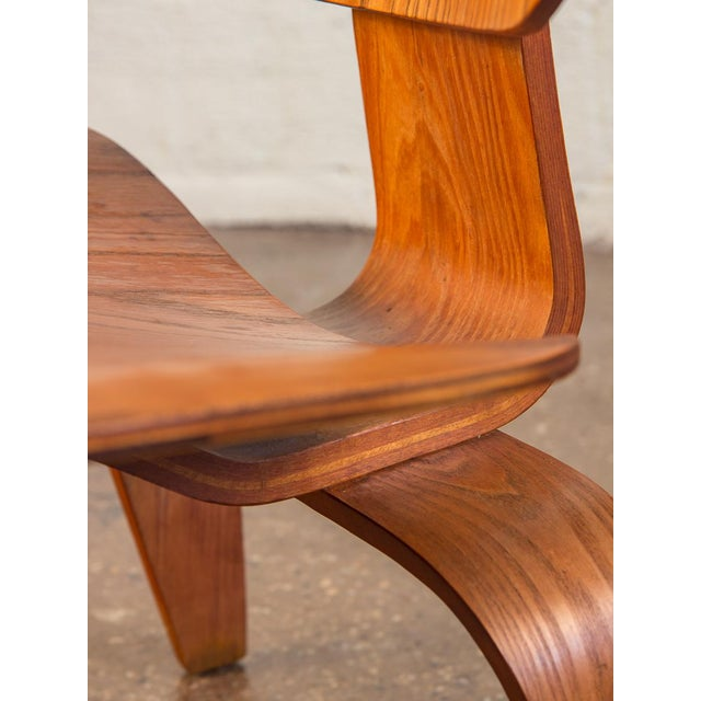 Ash 1950s Eames Ash LCW for Herman Miller Chair For Sale - Image 7 of 12