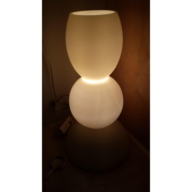 Italian Murano Glass Marino Due Table Lamp - Image 5 of 5
