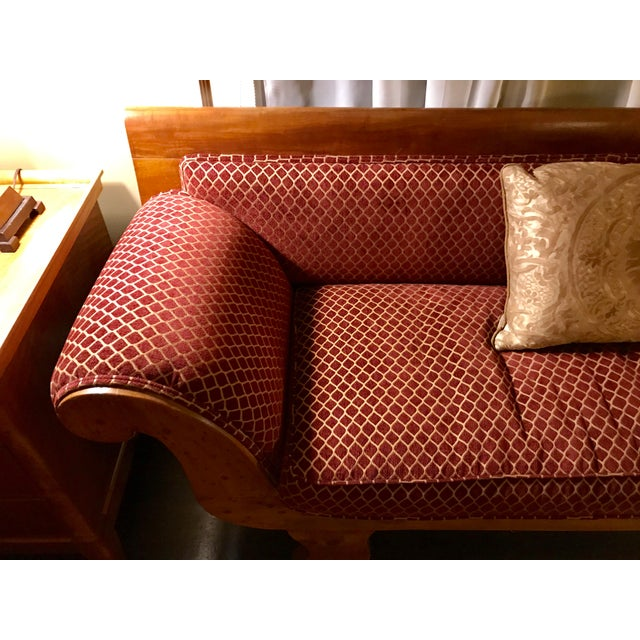 1850s Antique Empire Sofa For Sale - Image 4 of 7