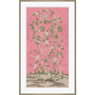 Dana Gibson Ditchley Park in Pink, Unframed Print For Sale