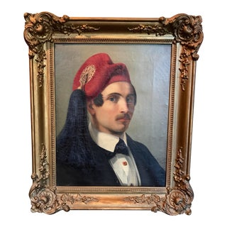 Painting by Russian Artist Friedrich Wigand For Sale