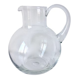 Tiffany & Co. Large Crystal Pitcher For Sale