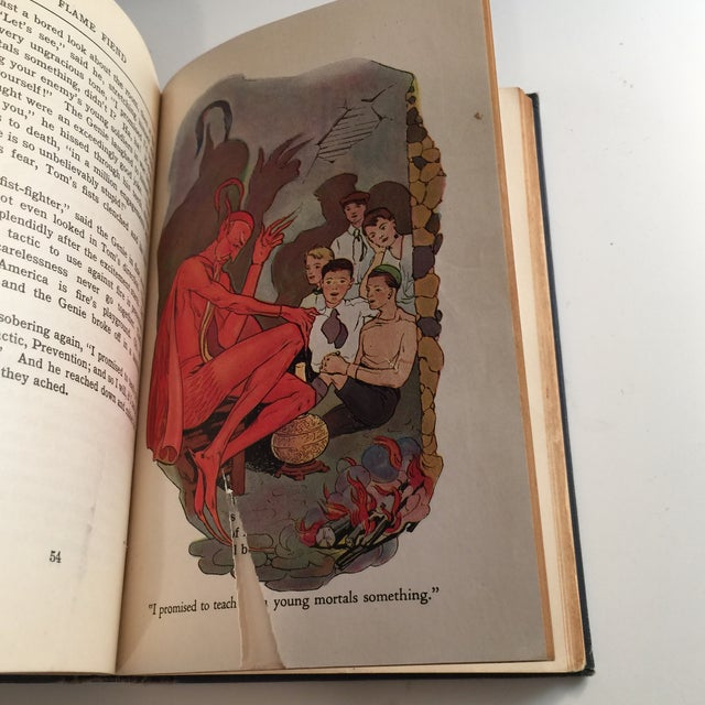 """Black """"The Flame Fiend"""" 1921 Hallie L. Jameson Book For Sale - Image 8 of 10"""