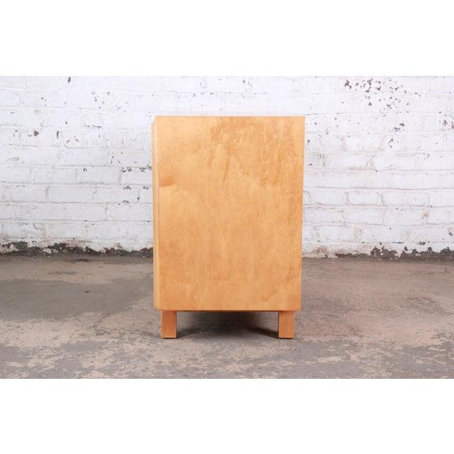 Edmond Spence Swedish Modern Maple Sideboard Credenza, Newly Refinished For Sale - Image 11 of 13