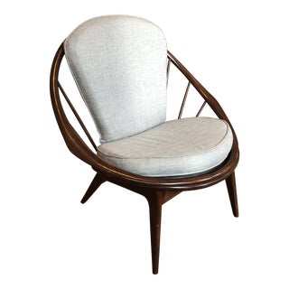 1950s Vintage Kofod Larsen Hoop Chair For Sale
