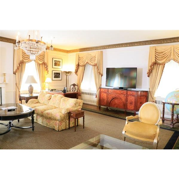 David Michael English Style Sideboard From Winston Churchill Suite of Waldorf Astoria For Sale In Raleigh - Image 6 of 13