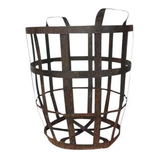 Industrial Metal Basket For Sale