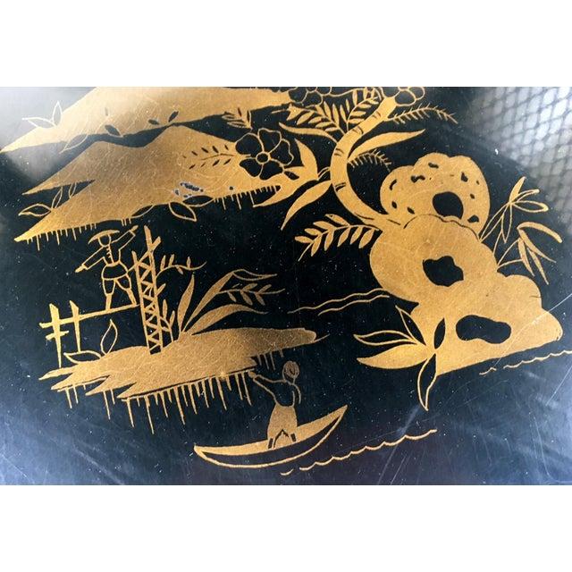 Vintage Katherine Henick Signed End Table For Sale - Image 9 of 9