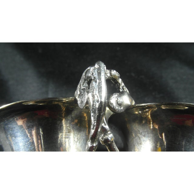 1832 to 1872 Italian Silver Liquor Cups - a Pair For Sale - Image 4 of 11