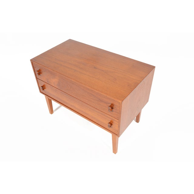 Danish Modern Two-Drawer Chest - Image 3 of 9