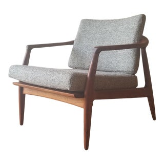 1950s Folke Ohlsson Armchair 72-C for Dux For Sale