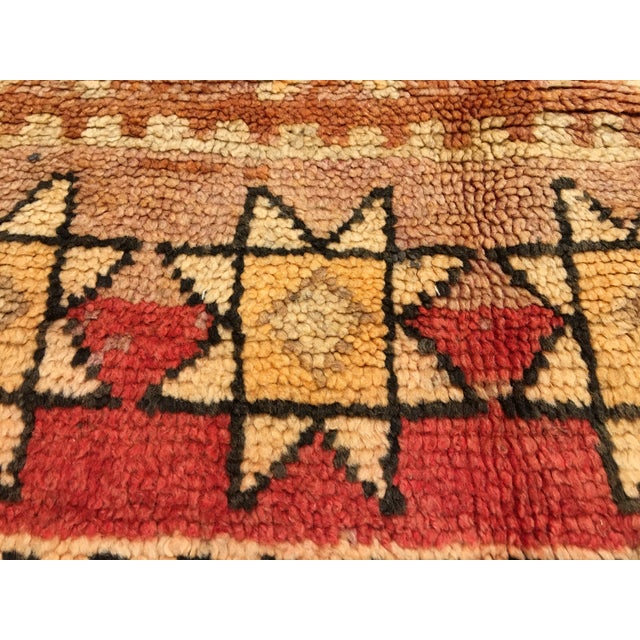 Bellwether Rugs Vintage Moroccan Area Rug - 4′4″ × 10′7″ - Image 7 of 8