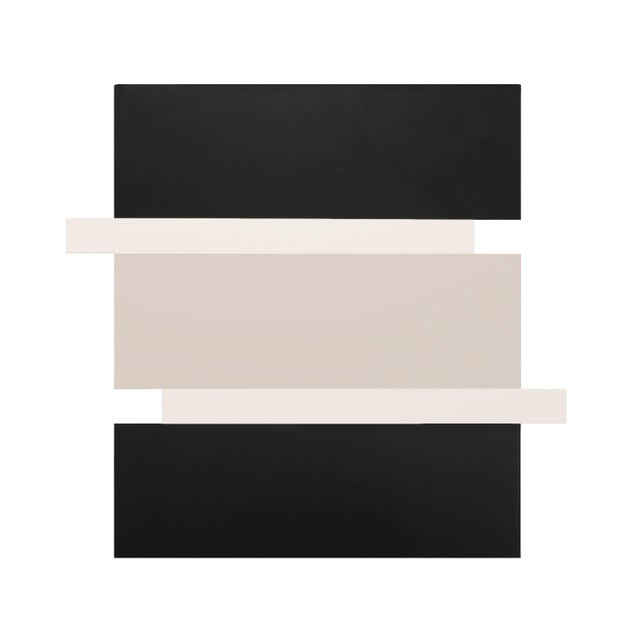 Scot Heywood, 'Stack - Black, White, Canvas', 2016, Acrylic on Canvas For Sale In Los Angeles - Image 6 of 6
