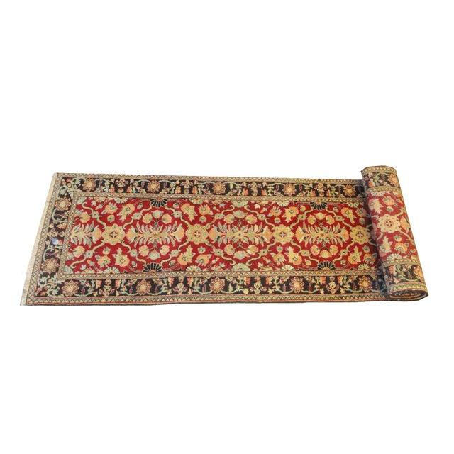 """Afghan Wool Runner Rug - 10'7"""" x 2'9"""" For Sale - Image 4 of 4"""