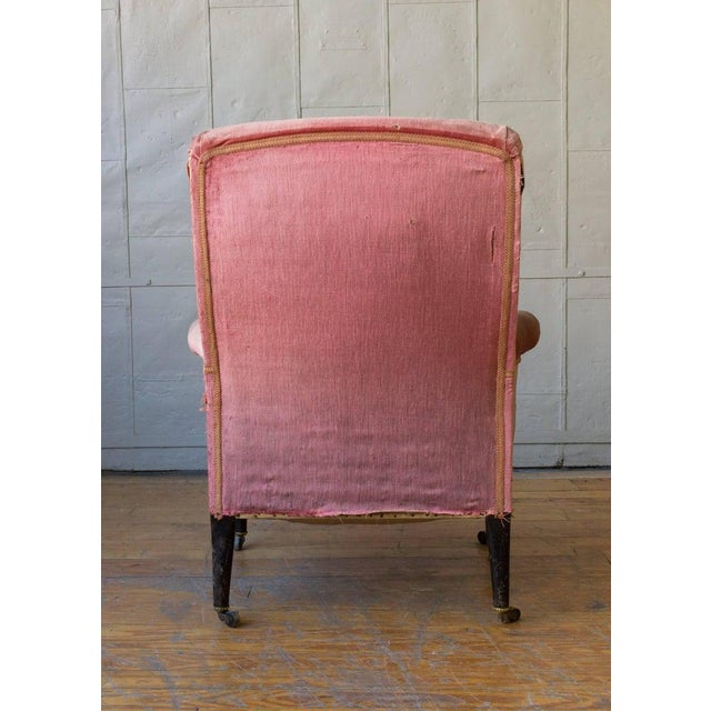 19th Century French Armchair and Ottoman For Sale - Image 9 of 11