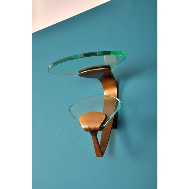 Copper Glamorous Coat Hook by Fontana Arte, Milan, Italy For Sale - Image 8 of 8