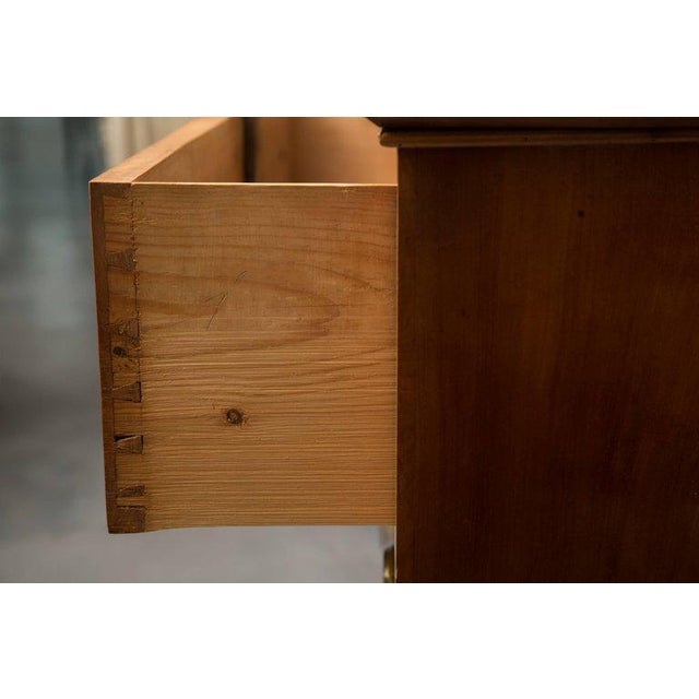 19th Century Cherrywood Biedermeier Chest of Drawers - Image 2 of 10