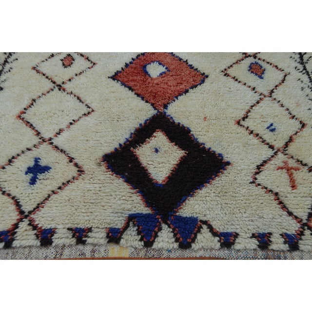 Vintage Moroccan Azilal Rug - 8'7'' x 4' For Sale - Image 5 of 7
